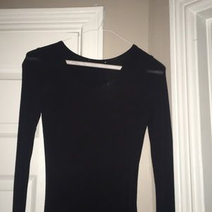 Aritzia jersey dress